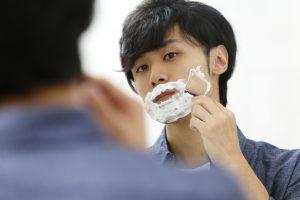 ヒゲ剃りの時間