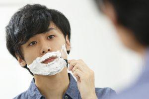髭剃りにかかる時間