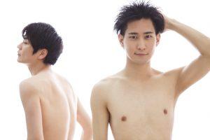 男の脇毛処理