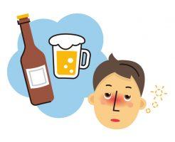脱毛と飲酒